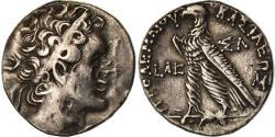 Ancient Coins - Coin, Egypt, Ptolemaic Kingdom, Ptolemy VI, Tetradrachm, 147-146 BC, Salamis
