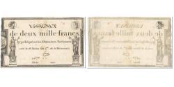 World Coins - France, 2000 Francs, 1795, Faure, 18 nivôse de l'an 3 - (7 janvier 1795).