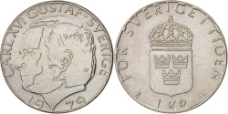 World Coins - Sweden, Carl XVI Gustaf, Krona, 1979, , KM:852