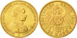 Ancient Coins - Coin, German States, PRUSSIA, Wilhelm II, 20 Mark, 1914, Berlin, MS(60-62)