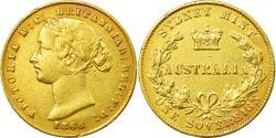 World Coins - Coin, Australia, Victoria, Sovereign, 1866, Sydney, , Gold, KM:4