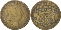 World Coins - France, Royal, Token, , Brass, 31, Feuardent #6885, 9.50