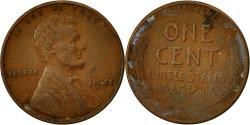 Us Coins - United States, Lincoln Cent, Cent, 1941, U.S. Mint, Philadelphia,