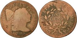 Us Coins - Coin, United States, Liberty Cap Cent, Cent, 1795, Lettered Edge,