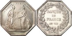 World Coins - France, Token, Banque de France, An VIII, Dumarest, , Silver