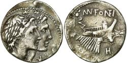 Ancient Coins - Coin, Plancia, Denarius, 108-107, Rome, , Silver, Crawford:307/1b