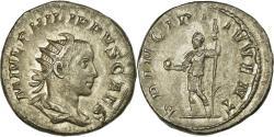 Ancient Coins - Coin, Philip II, Antoninianus, 244-246, Rome, , Billon, RIC:218