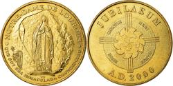 World Coins - France, Token, Touristic token, Notre Dame de Lourdes, Jubilaeum, Arts &