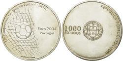 World Coins - Coin, Portugal, 1000 Escudos, 2001, Lisbon, , Silver, KM:734