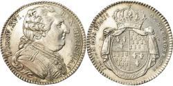 World Coins - France, Token, Louis XVI, États de Bretagne, Rennes, History, 1788, Duvivier