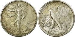 Us Coins - Coin, United States, Walking Liberty Half Dollar, Half Dollar, 1919, U.S. Mint