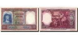 World Coins - Banknote, Spain, 500 Pesetas, 1931, 1931-04-25, KM:84, UNC(60-62)
