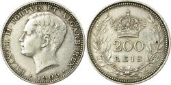 World Coins - Coin, Portugal, Manuel II, 200 Reis, 1909, Paris, , Silver, KM:549