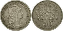 World Coins - Coin, Portugal, 50 Centavos, 1963, , Copper-nickel, KM:577