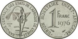 World Coins - West African States, Franc, 1976, , Steel, KM:E8