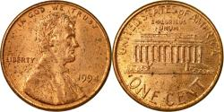 Us Coins - Coin, United States, Lincoln Cent, Cent, 1994, U.S. Mint, Philadelphia