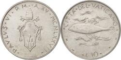 World Coins - VATICAN CITY, Paul VI, 10 Lire, 1977, Roma, , Aluminum, KM:119