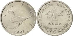 World Coins - Croatia, Kuna, 2007, KM:9.1