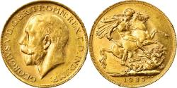 World Coins - Coin, Australia, George V, Sovereign, 1925, Perth, , Gold, KM:29