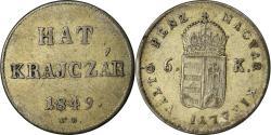 World Coins - Coin, Hungary, Franz Joseph I, Hat (6) Krajczar, 1849, Nagybanya,