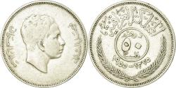 World Coins - Coin, Iraq, Faisal II as King, 50 Fils, 1955, Royal Mint, , Silver