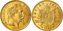 Ancient Coins - Coin, France, Napoleon III, 20 Francs, 1868, Strasbourg, , KM 801.2