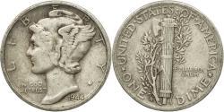 Us Coins - Coin, United States, Mercury Dime, Dime, 1944, U.S. Mint, San Francisco