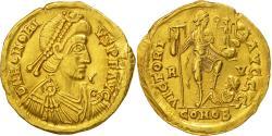 Honorius, Solidus, Ravenna, AU(50-53), Gold, RIC:1287