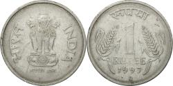 World Coins - Coin, INDIA-REPUBLIC, Rupee, 1997, , Stainless Steel, KM:92.2