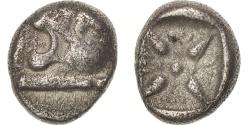 Ancient Coins - Ionia, Obol, VIth century - IVth century BC, Miletos, , Silver, BMC:14