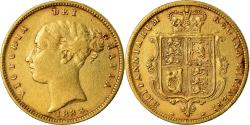Ancient Coins - Coin, Great Britain, Victoria, 1/2 Sovereign, 1883, , Gold, KM:735.1