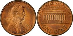 Us Coins - United States, Lincoln Cent, Cent, 1993, U.S. Mint, Denver, , Copper