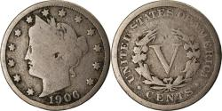 Us Coins - Coin, United States, Liberty Nickel, 5 Cents, 1906, U.S. Mint, Philadelphia