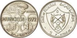 World Coins - Coin, FUJAIRAH, Muhammad bin Hamad al-Sharqi, 5 Riyals, 1970, , Silver
