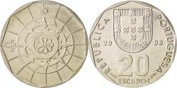 World Coins - Portugal, 20 Escudos, 2000, , Copper-nickel, KM:634.2