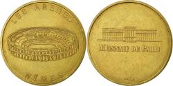 World Coins - France, Token, Touristic token, Nimes - Les Arènes n°1, 1996, MDP,