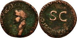 Ancient Coins - Coin, Germanicus, As, Rome, , Bronze, RIC:50