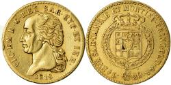 Ancient Coins - Coin, ITALIAN, SARDINIA, Vittorio Emanuele I, 20 Lire, 1818, Torino,