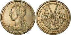World Coins - Coin, Cameroon, 2 Francs, 1948, Paris, , Copper-nickel, KM:E6