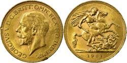 World Coins - Coin, South Africa, George V, Sovereign, 1931, Pretoria, , Gold, KM:A22
