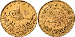 Ancient Coins - Coin, Turkey, Muhammad V, 50 Kurush, 1914, Qustantiniyah, , Gold