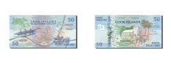 World Coins - Cook Islands, 50 Dollars, 1992, KM #10a, UNC(65-70), AAA 040139