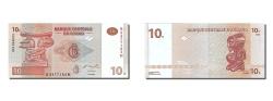 World Coins - Congo Democratic Republic, 10 Francs, 2003, KM #93a, 2003-06-30, UNC(65-70), H..