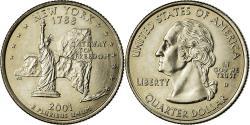 Us Coins - Coin, United States, New York, Quarter, 2001, U.S. Mint, Denver,