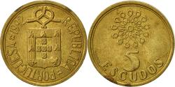 World Coins - Portugal, 5 Escudos, 1992, , Nickel-brass, KM:632