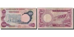 World Coins - Banknote, Nigeria, 10 Naira, Undated (1973-78), KM:17a, VF(20-25)