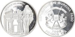 World Coins - Coin, Burkina Faso, Aphrodite, 1000 Francs CFA, 1 Silver Oz, 2015,