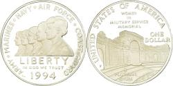 Us Coins - Coin, United States, Dollar, 1994, U.S. Mint, Philadelphia, Proof,