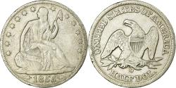 Us Coins - Coin, United States, Seated Liberty Half Dollar, 1855, New Orleans