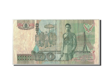 World Coins - Thailand, 20 Baht, Undated (2003), KM:109, VF(20-25)